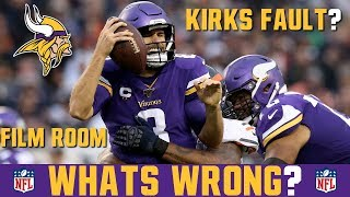 What's Wrong With The Vikings Offense? Is Kirk Cousins The Problem? FILM BREAKDOWN vs Bears