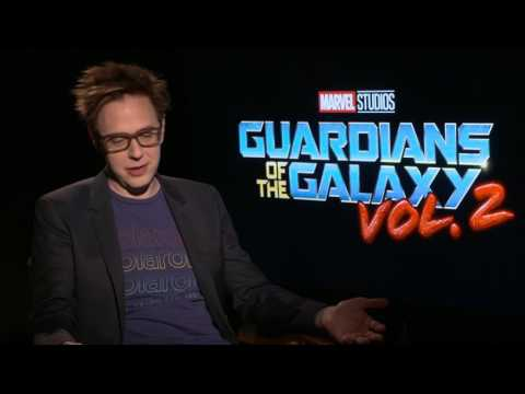 Guardians Of The Galaxy Vol. 2: Director James Gunn Official Movie Interview