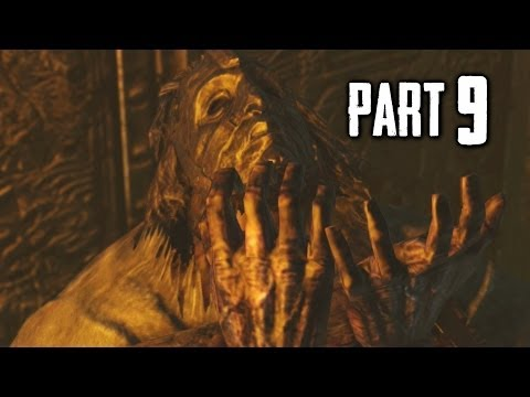 Dark Souls 2 Gameplay Walkthrough Part 9 - The Lost Sinner Boss (DS2)