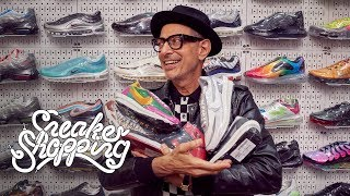 Jeff Goldblum Goes Sneaker Shopping With Complex