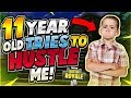 11 YEAR OLD TRIES TO HUSTLE ME Community Games 4 Fortnite Battle Royale mp3