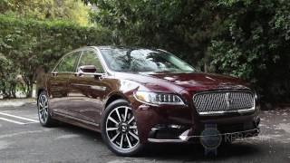 2017 Lincoln Continental - First Look