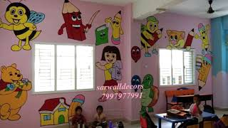 wall painting Desighn in Hyderabad By 7997977991