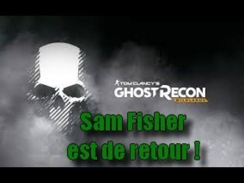 Sam Fisher est de retour ! (Ghost Recon Wildlands)