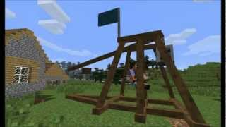 Minecraft - Ancient Warfare Mod Fan Trailer