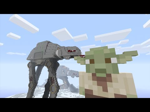 Minecraft (Xbox 360) - STAR WARS SKIN PACK! - FULL SHOWCASE + First Impression!