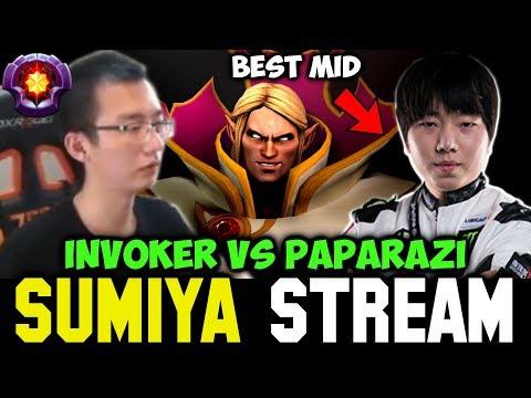 SUMIYA vs PAPARAZI the Best Midlaner | Sumiya Invoker Stream Moment #294