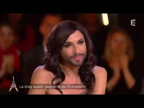 Conchita Wurst 02.10.2014 Un Soir à la Tour Eiffel