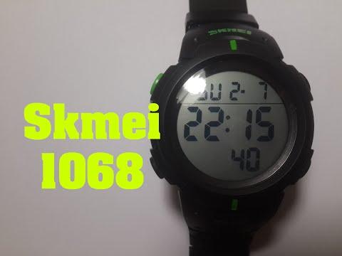 Часы Skmei 1068 Обзор, настройка, проверка на водонепроницаемость.