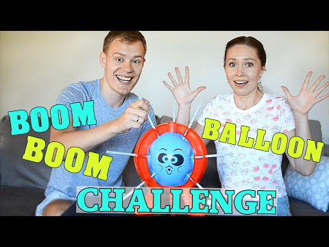 БУМ БУМ БАЛЛУН ЧЕЛЛЕНДЖ // BOOM BOOM BALLOON CHALLENGE