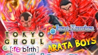 ARATA BOYS FES BANNER! // Tokyo Ghoul re: birth // IOS Mobile Gameplay