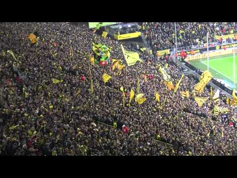 Borussia Dortmund - SC Freiburg: 2:1 und 3:1 in voller Länge BVB Südtribüne 2013 Stimmung 5:1