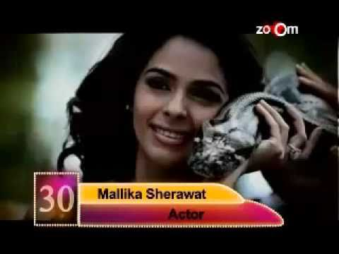 Mallika Sherawat and Dino Morea most desirable at no.30