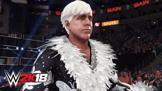 WWE 2K18 Ric Flair entrance video