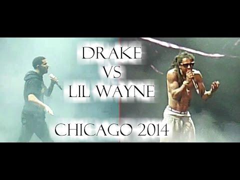 Drake Vs Lil Wayne Chicago 2014