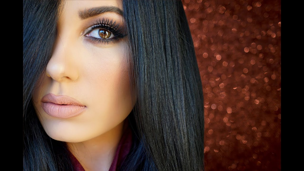 ♥ Holiday Party | Bronze Glitter Makeup Look Violet Voss | Victoria Lyn Beauty