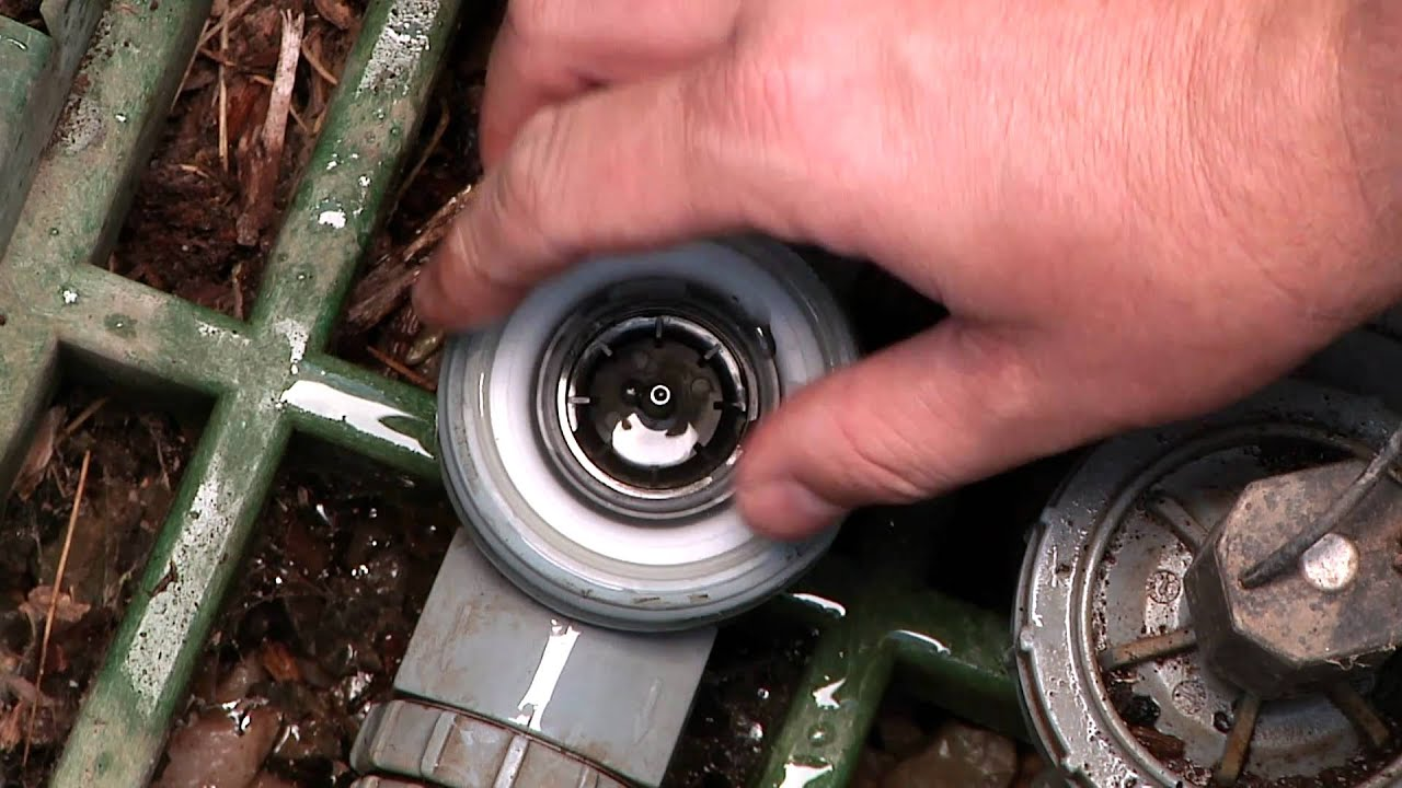 How To Replace A Sprinkler Valve Diaphragm Youtube