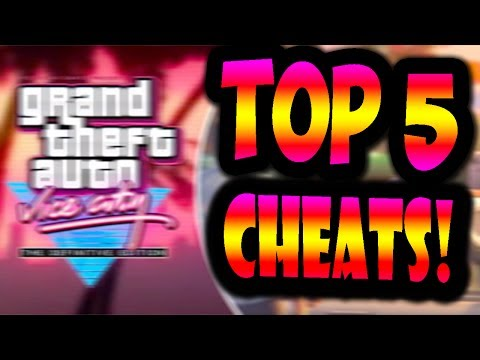 GTA VICE CITY TOP 5 BEST CHEATS OF ALL TIME(BEST GTA VC CHEATCODES!)