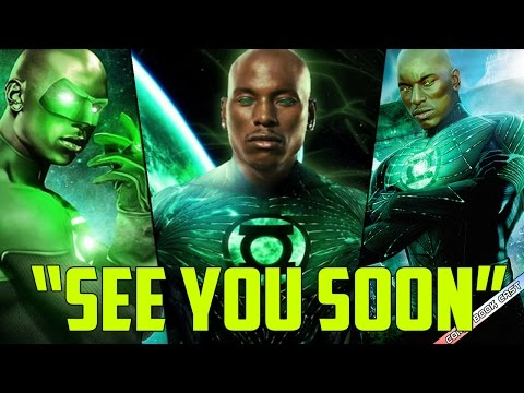 Tyrese Gibson Teases HE IS Green Lantern