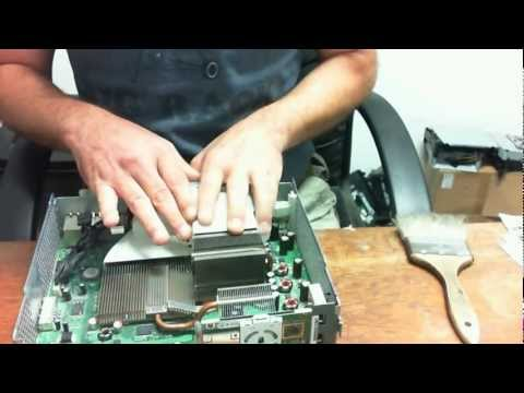 How to open and properly clean an Xbox 360 Fat