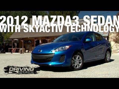 Ryan Drives The Mazda New Skyactiv Drivetrain