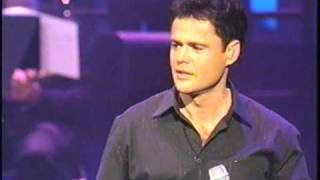 Watch Donny Osmond This Is The Moment video