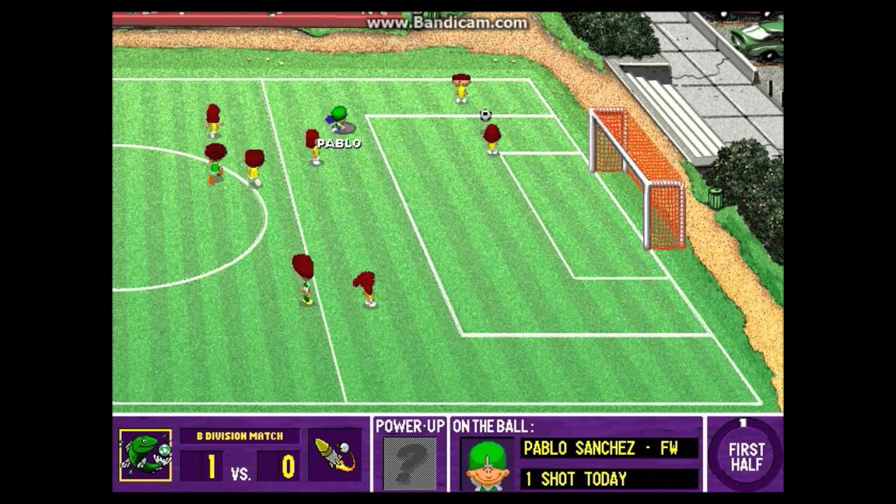 backyard soccer league pc tournament game 2 rocket rampage