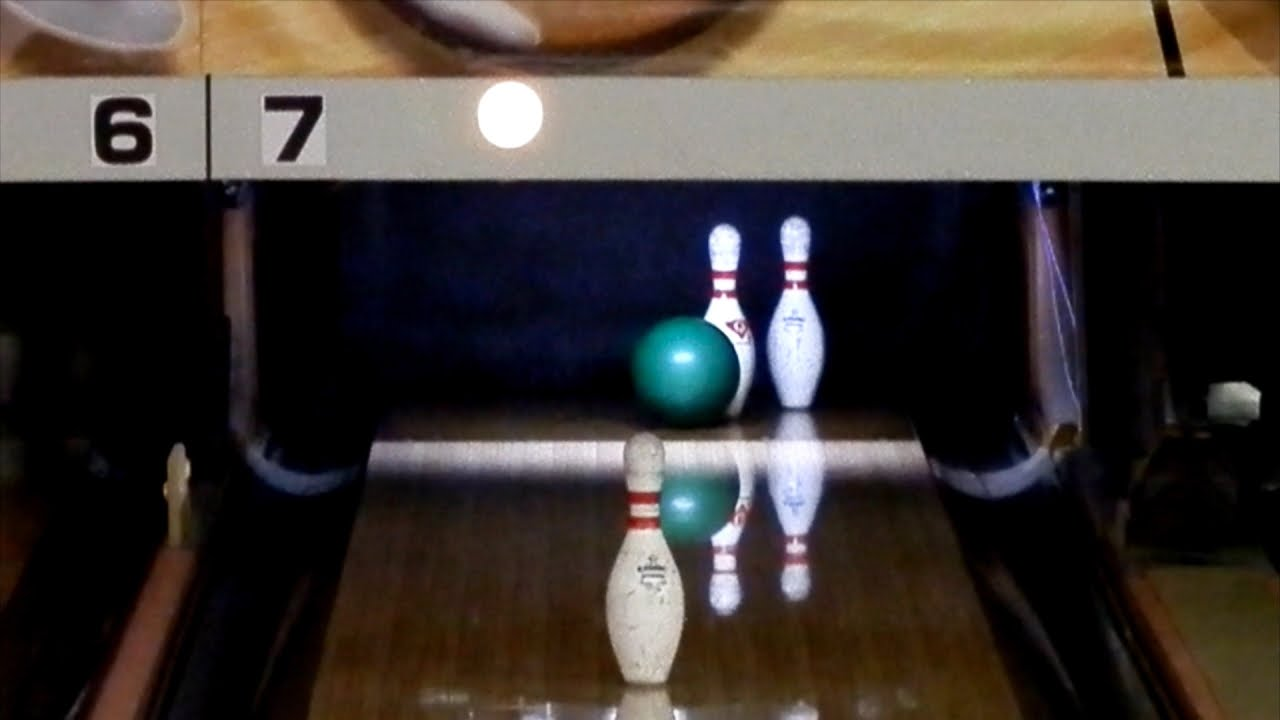 How Does This Bowling Trick Shot Work?