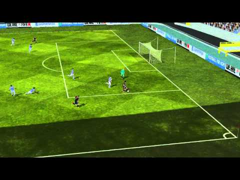 FIFA 14 Android - FC Barcelona VS Manchester City