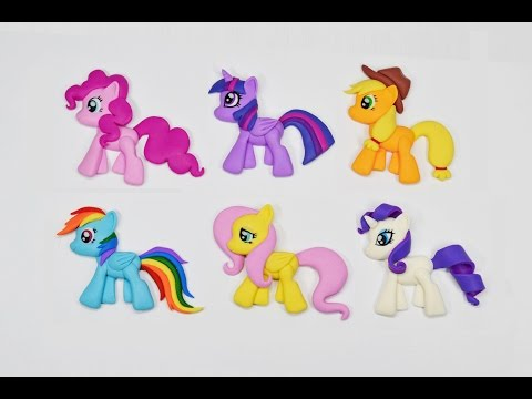 Лепим Май Литл Пони ❤️ My Little Pony. Полимерная глина мастер класс ❤️ Ирина Иваницкая