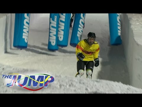 Louise Thompson, Lady Victoria Hervey & Jodie Kidd's Snow Cross Challenge - The Jump