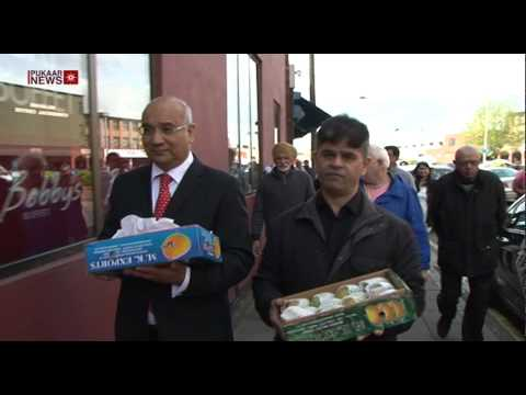 MP Keith Vaz Meets with Asian Shopkeepers to Discuss Mango Ban
