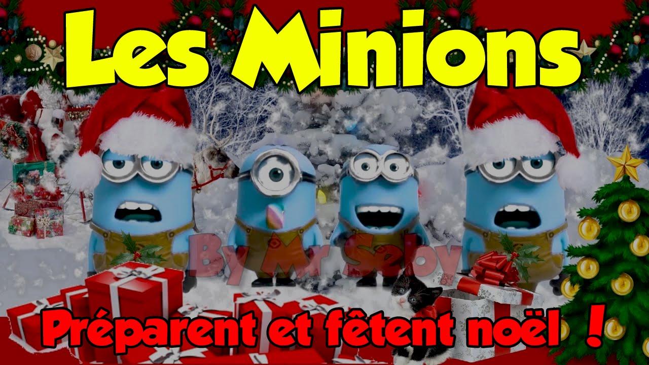 Les minions pr parent et f tent no l 2014 youtube - Les minions noel ...