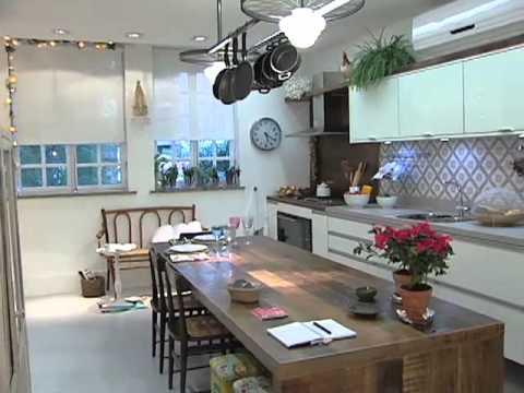 Manhã Viva: Dicas de Decoração - Espaço Cozinha com História (2011)