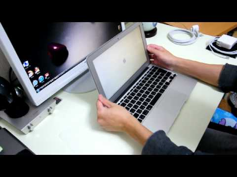 macbook air 11 開封 unboxing