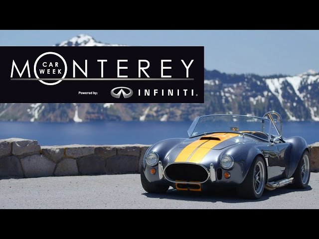 Monterey Car Week - Powered by Infiniti - Starting August 11th on the Motor Trend Channel