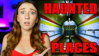 REAL HAUNTED PLACES ON EARTH...