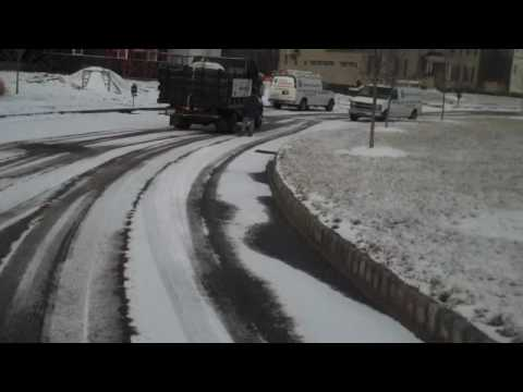 Magic Salt roadway application