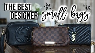 MINI BAG REVIEW & COMPARISON | GUCCI SOHO DISCO, LOUIS VUITTON FAVOURITE, YSL SMALL MONOGRAM