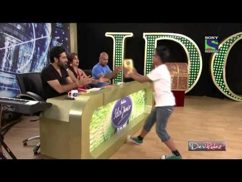 Darjeeling boy singing The Edge Band song in Indian Idol Junior...