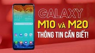 Chi tiết về bộ đôi Galaxy M10 và Galaxy M20 của Samsung