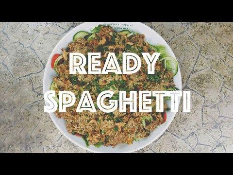 Ready Spaghetti - Raw Vegan Spaghetti - Przepis