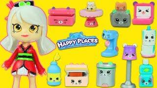 Shopkins Cicibiciler Happy Places - Mutlu Evim Eşyalar | Evcilik TV Yeni Oyuncak Videoları