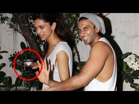 Deepika Padukone & Ranveer Singh CAUGHT DRUNK
