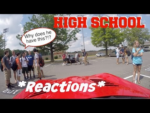 Driving My Dodge Viper To High School At 17 ~ Funny Exotic Car Reactions!!
