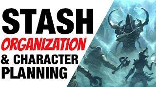 Diablo 3 Stash Space Item Organization & Cleaning Season 12 Patch 2.6.1