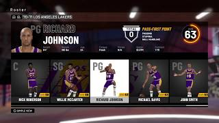 Classic Teams on NBA 2K19
