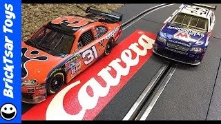 Carrera Evolution NASCAR Winner's Challenge Slot Car Racing Set Cingular Wireless