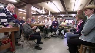 Wood carver Harley Refsal & John C. Campbell Folk School, HOLIDAY episode
