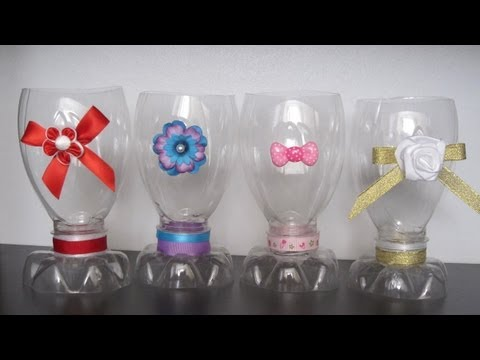 How to make a decorative cup with a recycled plastic bottle - Recycling - EP